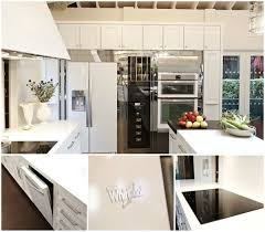 House Kitchen Appliances - whirlpool white ice collection 2012 house beautiful kitchen of