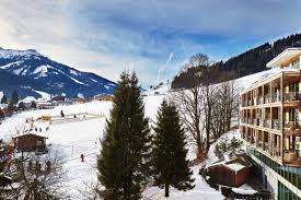 winter wonderland at kempinski hotel das tirol kitzbuhel austria
