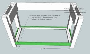 plans for a kitchen island kitchen island woodworking plans ideas guru designs kitchen