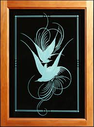 Glass Door Etching Designs by Splendor In The Glass Custom Glass Etching And Design