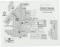 Nauvoo Illinois Map by Fife Ancestors
