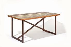 Esszimmer Tisch Vintage Esstisch Colori Platte Aus Recycling Mangoholz