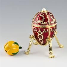 Diamond Trellis Egg Ashes Of Rose Imperial Fabergé Eggs Part I