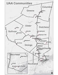 Uaa Map Hudson Valley Pattern For Progress The Hudson Valley Region