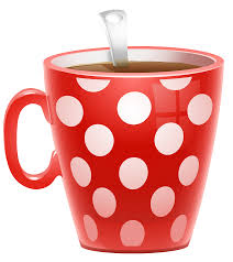 red dotted coffee cup png clipart picture gallery yopriceville