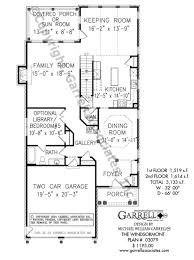 windsormont b house plan house plans by garrell associates inc