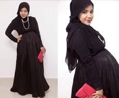 desain baju gamis hamil 30 model baju hamil muslim terbaru 2018 info terbaru