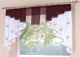 gardinen für die küche 50 fenstervorhnge ideen fr kche klassisch und modern gardine zum