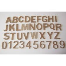 large thick 15cm mdf alphabet letters u0026 numbers for craft mdf