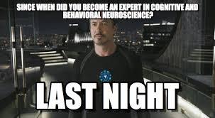 Neuroscience Meme - project researvh meme on memegen