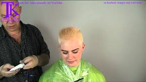 theo knoop new hair today ultra short grow back hairstyle for kim by theo knoop youtube