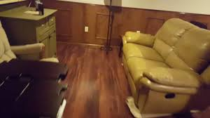 Laminate Flooring Cincinnati Laminate Flooring Basement Transformation Youtube