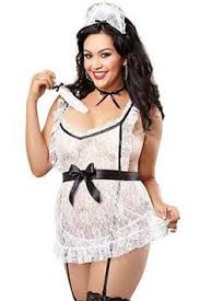 Plus Size Bedroom Costume Fashion Bug Plus Size Maid For Fun French Maid Costume 5 Piece