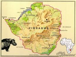 Victoria Falls Map Zimbabwe Next Adventure