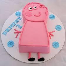 peppa pig cake 2d peppa pig cake my cake place