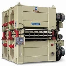 china double side wide belt sanding machines for pb mdf plants on