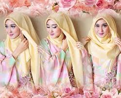 tutorial pashmina dian pelangi tutorial hijab pashmina untuk pesta ala dian pelangi hijab