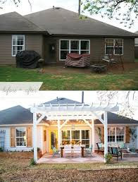 Outdoor Ideas Simple Small Patio Ideas Cheap Patio Decorating by Best 25 Patio Makeover Ideas On Pinterest Outside Patio