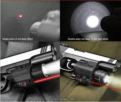 glock 19 laser light combo 200lumens 2in1 m6 tactical hunting cree led flashlight torch light