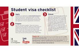 Embassy Letter From Bank Tier 4 Student Visa Checklist Gov Uk