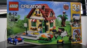 lego creator 31038 changing seasons pt 1 winter cottage built