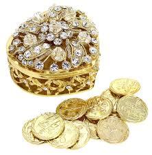 arras boda wedding unity coins arras de boda heart shaped chest box with