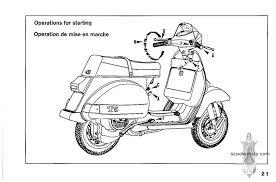 vespa t5 owner u0027s manual