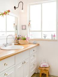 shabby chic style white bathroom design ideas pictures remodel