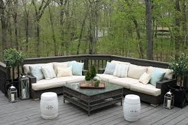 Wicker Patio Coffee Table Furniture Looking Picture Of Outdoor Living Room Decoration