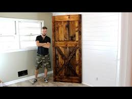 How To Build A Sliding Barn Door The 40 Barn Door Diy Project Youtube