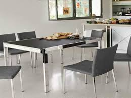 round glass top dining room table kitchen contemporary dining table sets cool dining room tables