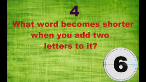 5 riddles hard to solve even adults can not solve only 5 can