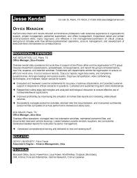 Administrative Resume Objective Examples by Office Manager Resume Objective Examples Best Business Office