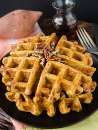 whole wheat sweet potato waffles flavor the moments