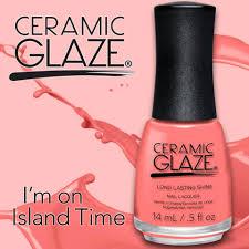 ceramic glaze nail polish review neon coral chic rx
