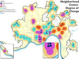Map Of Cincinnati Plan Cincinnati Aims To Guide City Back Towards Its Urban Roots