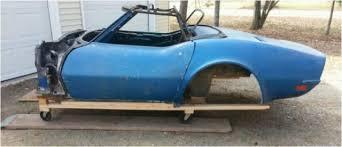 1971 corvette parts chevrolet corvette convertible 1971 blue was originally brands