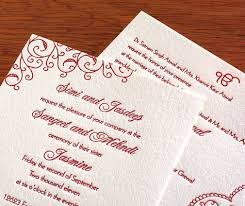 indian wedding card sle a really popular thing to include on your wedding invitation is a