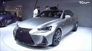 lexus sport sedan 2017 lexus is f sport 2017 facelift first glimpse youtube