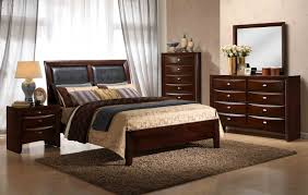 Black Wooden Bedroom Furniture by Roundhill Furniture
