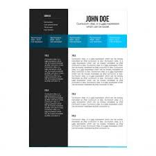 resume template simple format free download in ms word within
