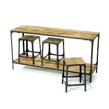sofa table with stools underneath beautiful sofa table with stools for sofa modern bar stool home