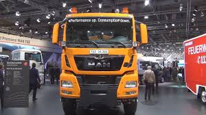 man tgs 18 360 4x4 bl tipper truck exterior and interior in 3d
