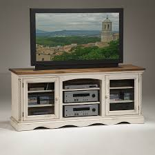 shop hillsdale furniture wilshire antique white tv cabinet at