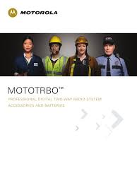 mototrbo accessory brochure updated 9 07 ultra high frequency