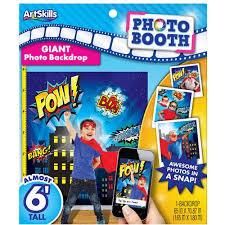Superhero Backdrop Superhero Giant Photo Backdrop Walmart Com