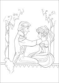 coloring page frozen frozen coloring pages and printables