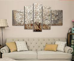 5 piece canvas wall art hand painted palette knife oil 5 pieces hand painted canvas still life oil paintings modern