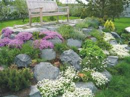 Small Backyard Rock Gardens 15 Charming Garden Design Ideas With Stone Edges And Raised Beds