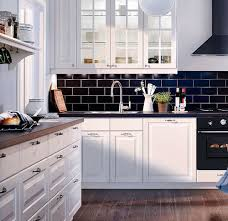 Black Or White Kitchen Cabinets White Kitchen Cabinets With Black Countertops Decorating Clear